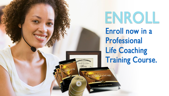 Enroll now in a professional life coaching training course.